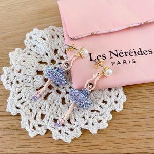 les nereides ballerina earrings